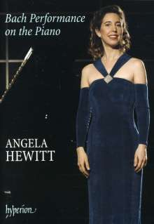 Angela Hewitt - Bach Performance on the Piano, DVD
