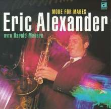 Eric Alexander (geb. 1968): Mode For Mabes, CD