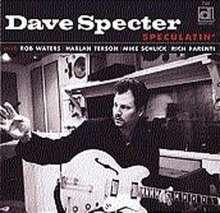 Dave Specter: Speculatin', CD