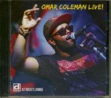 Omar Coleman: Live!, CD