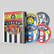 The Rolling Stones Rock And Roll Circus (Limited-Deluxe-Edition), 2 CDs, 1 DVD und 1 Blu-ray Disc
