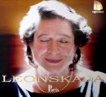Elisabeth Leonskaja - Paris, CD