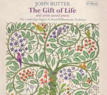 John Rutter (geb. 1945): The Gift of Life, CD