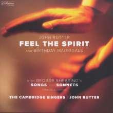 John Rutter (geb. 1945): Feel the Spirit (A Cycle of Spirituals, arr. von John Rutter), CD