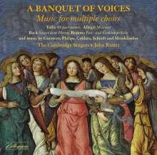 Cambridge Singers - A Banquet of Voices (Mehrchörige Werke), CD
