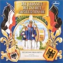 Die großen deutschen Armeemärsche, CD