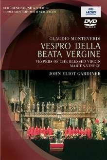 Claudio Monteverdi (1567-1643): Vespro della beata vergine, DVD