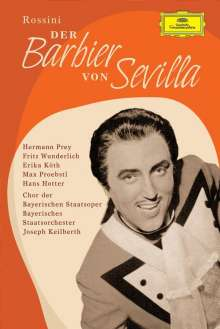 Gioacchino Rossini (1792-1868): Der Barbier von Sevilla (in deutscher Sprache), DVD