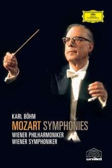 Wolfgang Amadeus Mozart (1756-1791): Karl Böhm dirigiert Mozart-Symphonien (DVD), 3 DVDs
