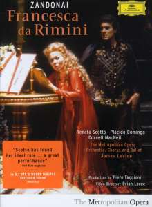 Riccardo Zandonai (1883-1944): Francesca da Rimini, DVD