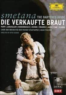 Bedrich Smetana (1824-1884): Die verkaufte Braut (in dt.Spr.), DVD