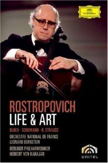 Mstislav Rostropovich - Life and Art, DVD
