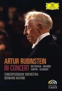 Artur Rubinstein in Concert (Concertgebouw Amsterdam 1973), DVD