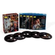 Richard Wagner (1813-1883): Der Ring des Nibelungen, 5 Blu-ray Discs