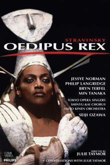 Igor Strawinsky (1882-1971): Oedipus Rex, DVD