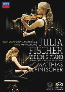 Julia Fischer - Violine & Klavier, DVD