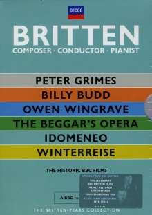 Benjamin Britten (1913-1976): Britten - Pears Collection, 6 DVDs