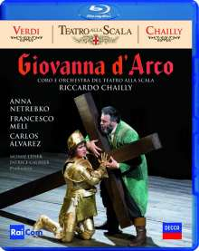 Giuseppe Verdi (1813-1901): Giovanna d'Arco, Blu-ray Disc