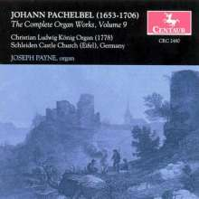 Johann Pachelbel (1653-1706): Sämtliche Orgelwerke Vol.9, CD