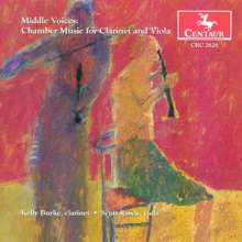 Middle Voices - Chamber Music for Clarinet & Viola, CD