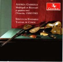 Andrea Gabrieli (1510-1586): Madrigali et Ricercari a quattro voci, CD