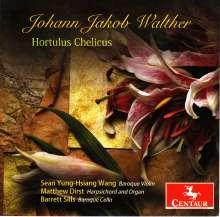 Johann-Jacob Walther (1650-1717): Hortus Chelicus, 4 CDs