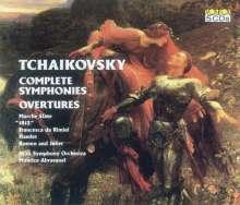 Peter Iljitsch Tschaikowsky (1840-1893): Symphonien Nr.1-6, 5 CDs