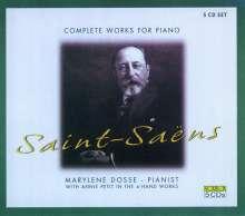 Camille Saint-Saens (1835-1921): Klavierwerke, 5 CDs