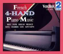 French 4-Hand Piano Music, 2 CDs