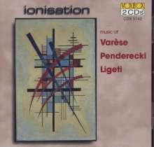 Krzysztof Penderecki (geb. 1933): Emanationen für 2 Streichorchester, 2 CDs