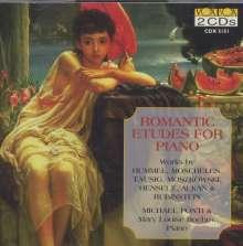 Michael Ponti spielt Romantische Etüden, 2 CDs