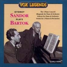 Bela Bartok (1881-1945): Klavierkonzerte Nr.1-3, 2 CDs