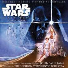 John Williams: Filmmusik: Star Wars: A New Hope (remastered) (180g), 2 LPs