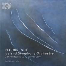 Iceland Symphony Orchestra - Recurrence, 1 Blu-ray Audio und 1 CD