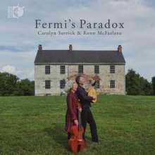 Ronn McFarlane & Carolyn Surrick - Fermi's Paradox, CD