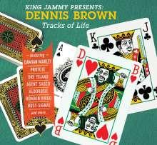 "Dennis Brown: King Jammy Presents: Tracks Of Life, 1 LP und 1 Single 7"""