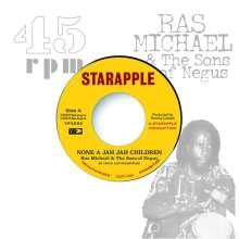 """Ras Michael & The Sons Of Negus: None A Jah Jah Children / Jah Glory, Single 7"""""""