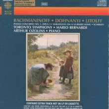 Sergej Rachmaninoff (1873-1943): Klavierkonzert Nr.1, CD