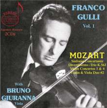 Franco Gulli Vol.1, 2 CDs