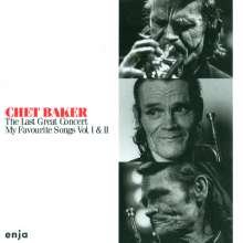 Chet Baker (1929-1988): The Last Great Concert: My Favourite Songs Vol. I & II, 2 CDs