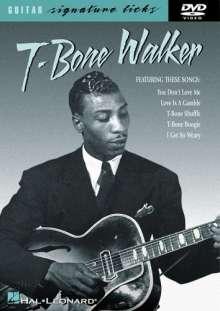 T-Bone Walker: Guitar Signature Licks, DVD