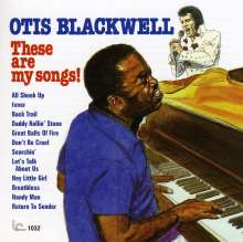 Otis Blackwell: These Are My Songs!, CD