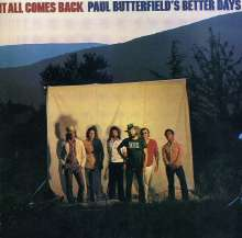 Paul Butterfield: It All Comes Back, CD