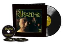 The Doors: The Doors (50th-Anniversary-Deluxe-Edition) (180g), 1 LP und 3 CDs