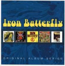 Iron Butterfly: Original Album Series, 5 CDs