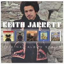 Keith Jarrett (geb. 1945): Original Album Series, 5 CDs