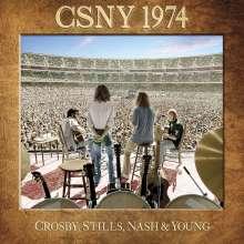 Crosby, Stills, Nash & Young: CSNY 1974, 3 CDs und 1 DVD