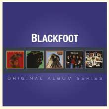Blackfoot: Original Album Series, 5 CDs
