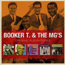 Booker T. & The MGs: Original Album Series, 5 CDs