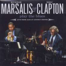 Eric Clapton & Wynton Marsalis: Play The Blues: Live From Jazz At Lincoln Center (CD + DVD), 1 CD und 1 DVD